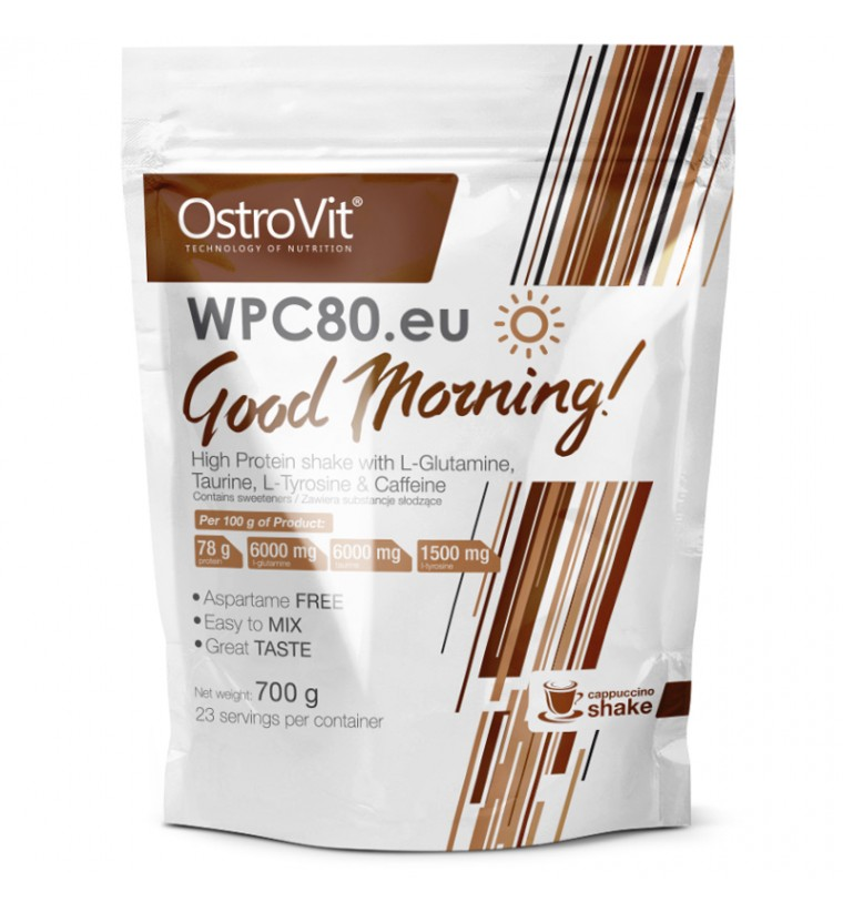 Good Morning! Ostrovit WPC80 Whey