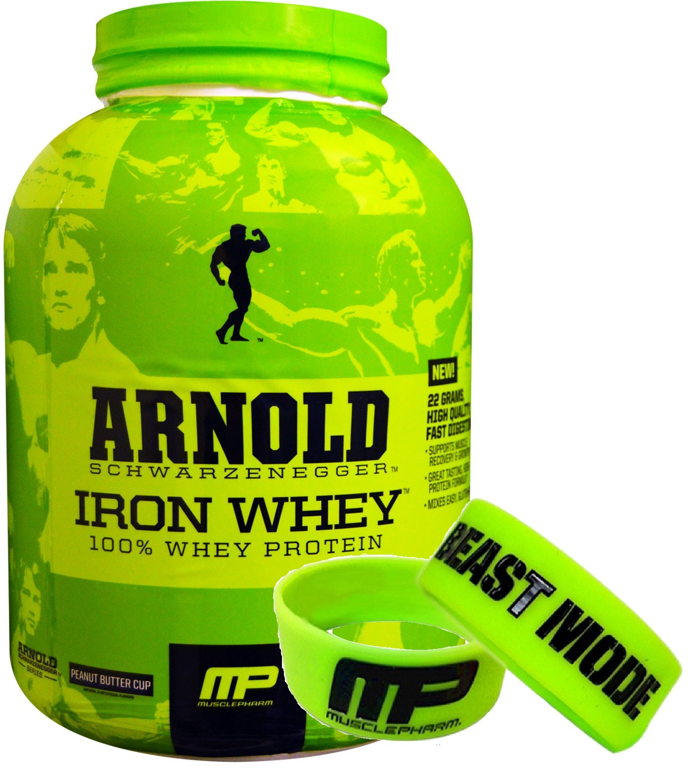 Musclepharm Arnold Iron Whey 2.27kg - 2.27kg